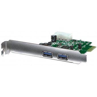 Compra Tarjeta PCI-E Manhattan 151375 Con 2 USB 3 +C+ online | Linio México
