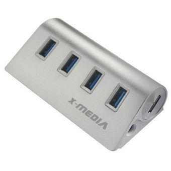 Compra USB Hub X-Media Xm-Ub3004 4 Port Usb 3.0 Sin online | Linio México