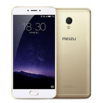 Compra Meizu MX6 32GB ROM 4G phablet androide 6.0 5.5 pulgadas X20 Helio 1.39GHz Core 4 GB de RAM Deca mTouch 12MP cámara trasera Bluetooth 4.1 GPS-ORO online | Linio México