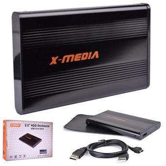 Compra Enclosure Para Disco Duro X-MEDIA XM-EN2200U3-BK 2.5″ SATA USB 3.0-Negro online | Linio México