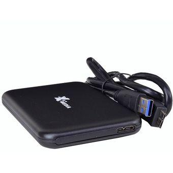 Compra Gabinete para Disco Duro X-Media EN-2251U3-BK 2.5 Pulgadas SATA Enclosure USB 3 Screwless +C+ online | Linio México