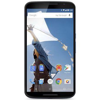 Compra Smartphone Motorola Nexus 6 4G 32GB-Azul online | Linio México
