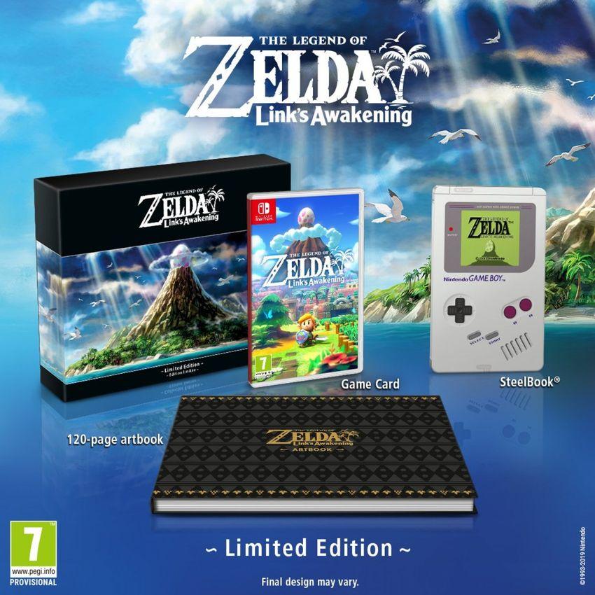 The Legend of Zelda: Link's Awakening - Limited Edition