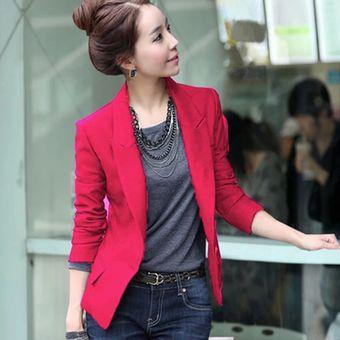 Chaqueta Linio Fashion Mujer Perú online Rosa Blazer Cool Para Compra Aa8HBH