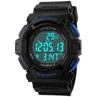 1bf484aa5da4 Compra Relojes Hombre LED Deporte Reloj De Hombre Digital-Azul ...
