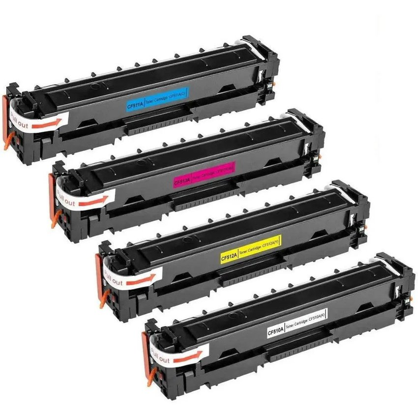 PACK DE 4 TONER ALTERNATIVO  COLOR IMPRESORA LM154NW, M180NW,