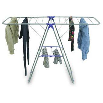 Tendedero colgador ropa perchero plegable metal linio - Colgador de camisas ...