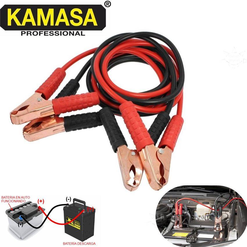 Pasa Corriente Para Carro Automovil Cables Pasar Autos Bateria Cable De Arranque