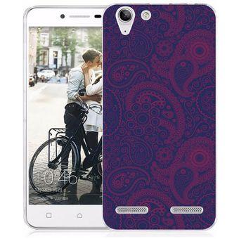 ad33dc8249f Compra Funda Para Celular Lenovo K5 - Paisley Morado Con Rosa online ...