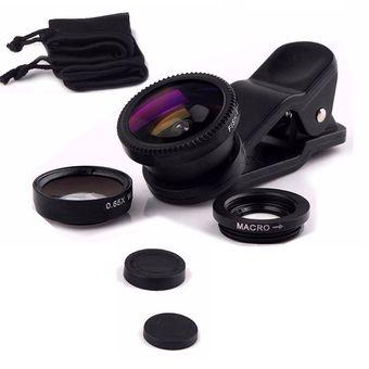 2dc37852afe Compra Kit Lentes Para Celular Ojo De Pez - Negro online | Linio ...