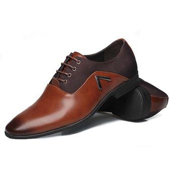5c94413769d2b Compra Mocasines Zapatos Vestir Cuero Casual Hombre -Marrón online ...