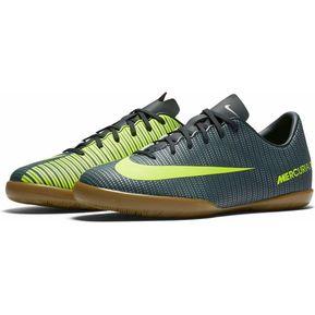 61d799caf75 Tenis Indoor Nike Mercurialx Vortex CR7-Negro Amarillo Fosforescente