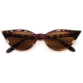 854b36e8e3 Vintage Mujer Gafas De Ojo De Gato Bastidor PC Lente Resina UV400 Gafas  Gafas Leopard
