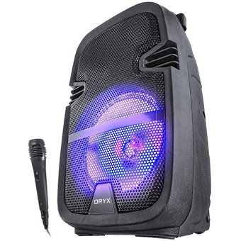 Parlante Amplificador Bluetooth 1000w Led Usb Radio + Mic