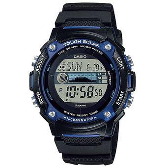 fa269b2e9d2c Agotado Reloj Casio W-S210H-1AVDF Para Caballero En Resina Negro Deportivo