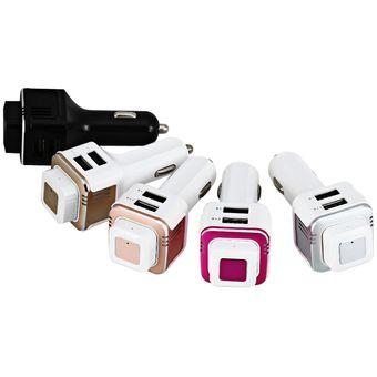 Audifonos Bluetooth, TL20 Audifonos Bluetooth Manos Libres  V4.0 Auriculares Auriculares Inalámbricos Con Potente Purificación Barra De Oxígeno Del Coche Dual USB Adaptador De Cargador Rápido (negro)