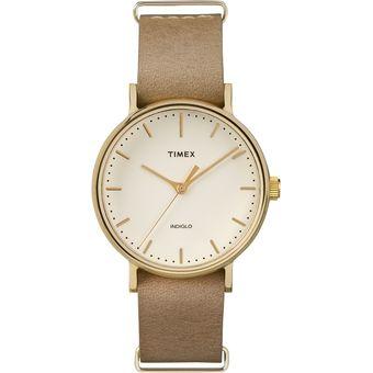 eb53f5039421 Agotado Reloj Timex Mod. TW2P98400 Weekender Fairfield Dama Car Blanca Corr  Crema