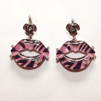 52cd072c14a0 Compra Aretes Divalu accesorios Cebra Perlas-Rosado online
