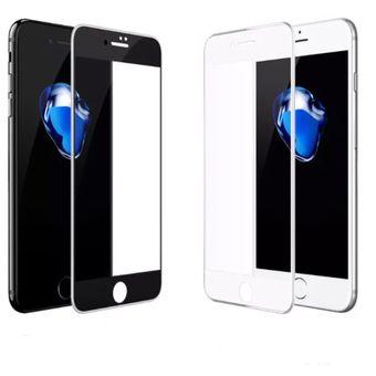 a1721f49a80 Mica De Cristal Templado Para Iphone 8 Plus Full 9h - Multicolor