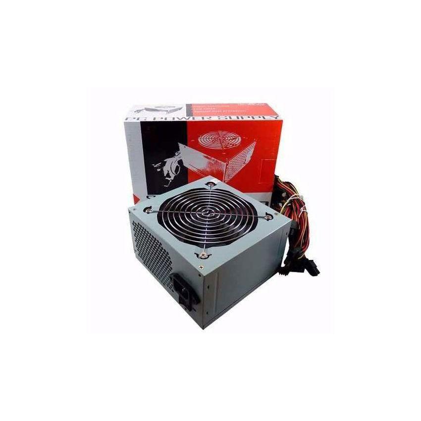 Fuente De Alimentación Kelyx 500w C/cooler 12cm Y Cable