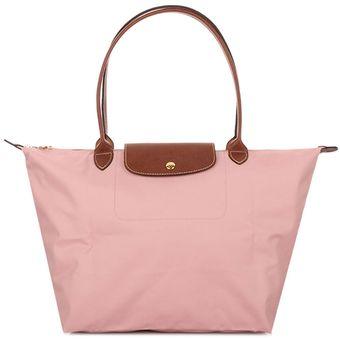 5c4de88e1eb1 Compra Bolsa de Hombro Plegable Longchamp 1899089 para Mujer-Rosa ...