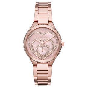 5bd03b8bc0b9 Reloj Análogo Michael Kors Mod  MK3605 color Oro Rosa para Dama