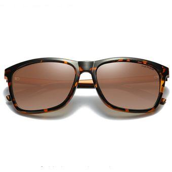 6839f98b8e Gafas De Sol Polarizadas Para Hombre Y Mujer Gafas De Sol Estilo Aviador -marrón