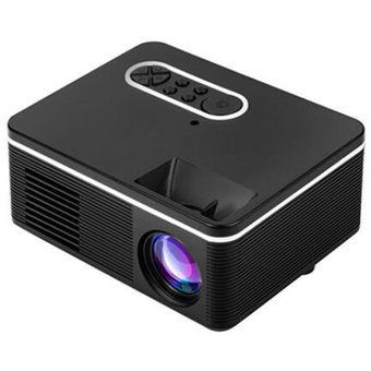 Mini proyector portátil S361 soportes para proyectores LED 1080P HD compatible con múltiples dispositivos de soporte multi-languauge