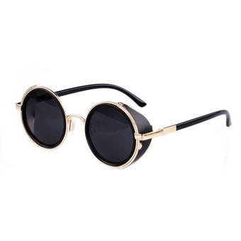 8edd27d673 Agotado Gafas De Sol Lentes Cristales Redondos Estilo Retro Moda Para Mujer  Hombre Unisex