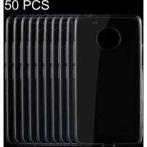 9798360f1bd 50 Pcs Para Motorola Moto G (5th Gen) 0,75 Ultra Delgada De TPU  Transparente Estuche Protector