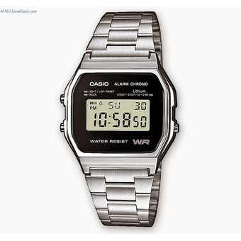 57fbbff6fb02 Compra Casio - Reloj Analogico Para Hombre 158 W-1 - Plateado online ...