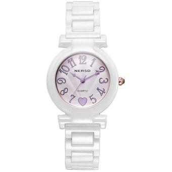 louiwill nair houstton cermica marca de relojes nersd estudiantes bijou de cuarzo suizo automtico tendencia luminosa