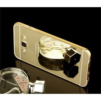 ed4e8b07c72 Funda Protector Bumper Aluminio Tipo Espejo Metálico Samsung A3 2015 / A300