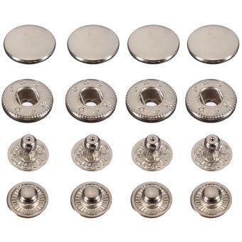 diseño de variedad selección premium sombras de 15pcs 10/12/15/17mm Latón Botones Para Coser Ropa Jeans Pantalones DIY  Reparar