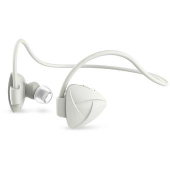 Audífonos Bluetooth Manos Llibres Inalámbricos, SH03D Sin Manos Audifonos Bluetooth Manos Libres  Sin Manos Del Deporte Del Auricular Del Deporte Sweatproof (blanco)