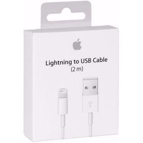 14d60ebc37c Cable Apple Iphone 2 Metros 6 7 8 Original Usb Lightning Caja Cellada