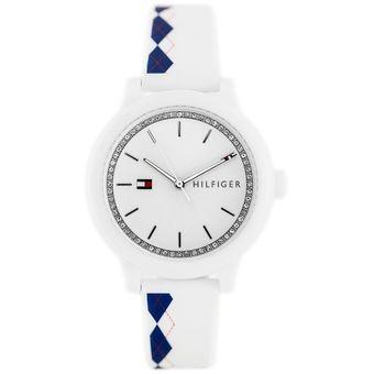 5c4aac25b6a5 Compra Reloj Tommy Hilfiger 1781812 Para Dama-Blanco online