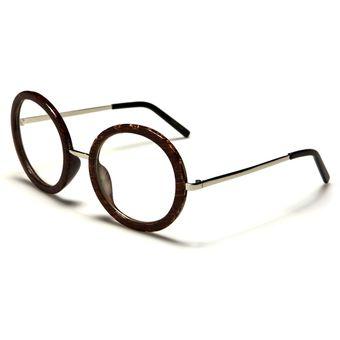 cf495f39e8 Agotado Gafas Monturas Oftálmicas Marco Tipo Round Redondas Vintage Para  Lentes Formulados Filtro UV - NERD045B -