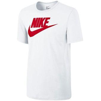 Compra Camisa Deportiva Hombre Nike Icon Futura-Blanco online ... 2de366d016f82