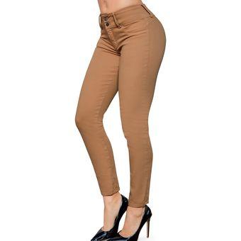 Pantalon Kaki Mujer Tienda Online De Zapatos Ropa Y Complementos De Marca