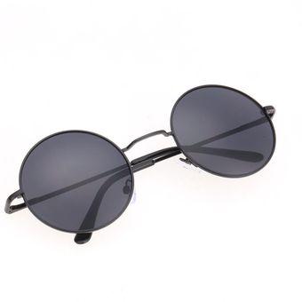 d018646f48 Agotado Nueva moda Unisex las gafas de sol estilo Vintage Casual tortuga  marco lente gafas redondas -