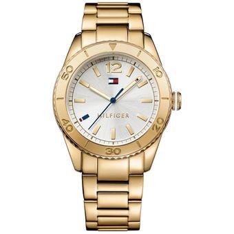 9852d96910b4 Compra Reloj Tommy Hilfiger TH-1781268-Dorado online