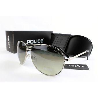 e6eb9a88eb Lentes de sol - Policia - Aviador - Polarizados + proteccion UV - Plateado