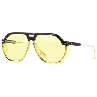 8e807b4c4a Compra Lentes De Sol Christian Dior 71CHO 61MM Amarillo online ...