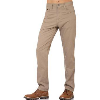 Pantalon Oggi Jeans Hombre Beige Gabardina Power Linio Mexico St571fa097mz3lmx