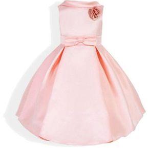f570aa17e Vestido fiesta infantil princesa fiesta cumpleaños-Rosa