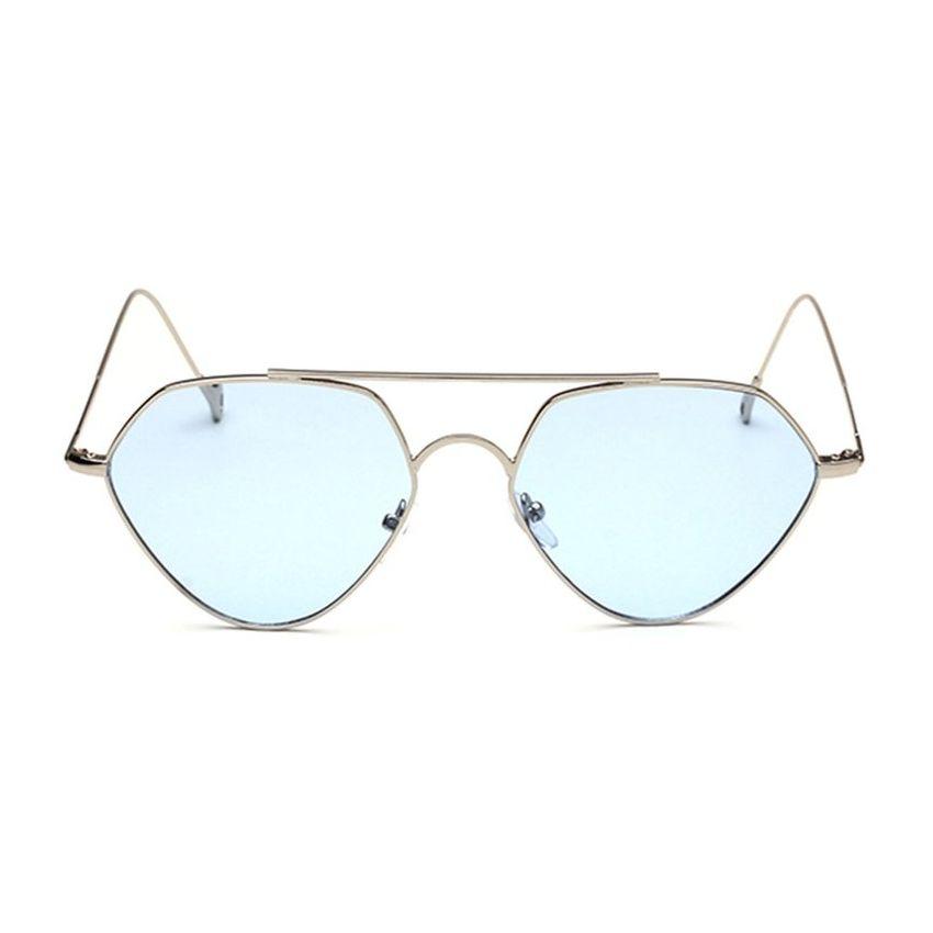 Hombres Mujeres marco de metal gafas de sol UV400 de protección al aire libre gafas de sol Viajes