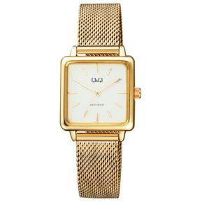 43644378bff Reloj Q&q Analogo Qb51j001y Dorado Mujer