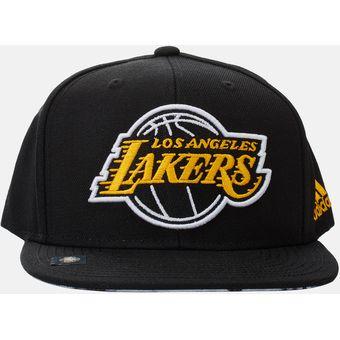 dd332dbc52d6 Gorra Adidas De Los Angeles Lakers Negra 2018