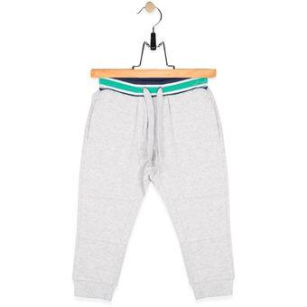 Compra Pantalón de Buzo Bebé Niño Pillin - Color Gris online  01ce6c4c80f